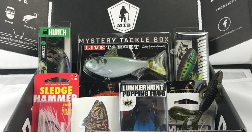 mystery tackle box gifts