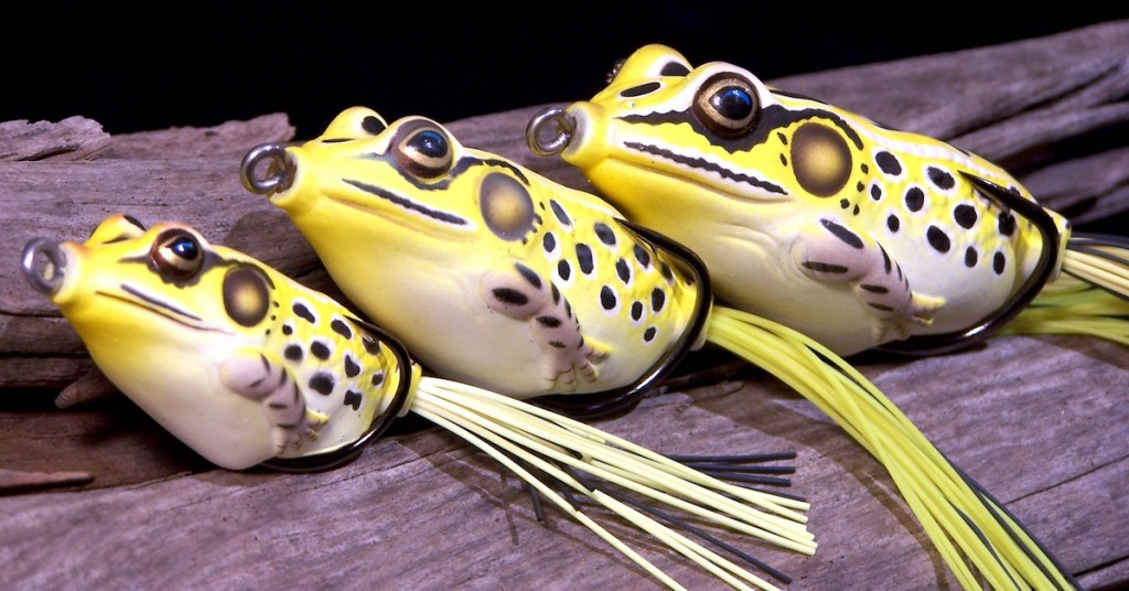 Koppers-Live-target-frogs-yellowblack-all-3-sizes-view-2
