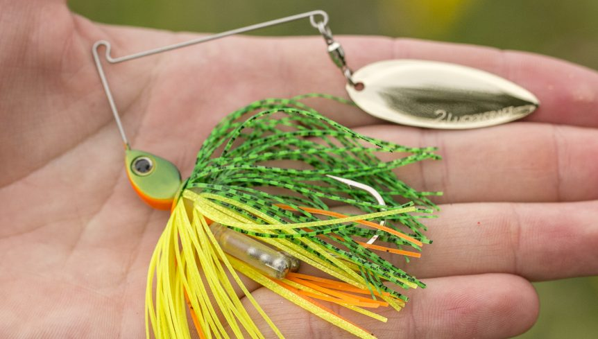 appâts bruyants spinnerbaits