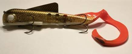 musky fishing bait