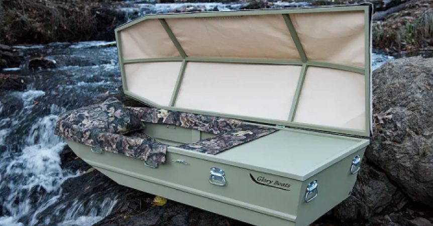 fishing casket