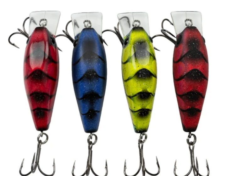 Black And Blue Crankbaits