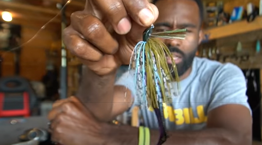 jigs are big bass fishing lures
