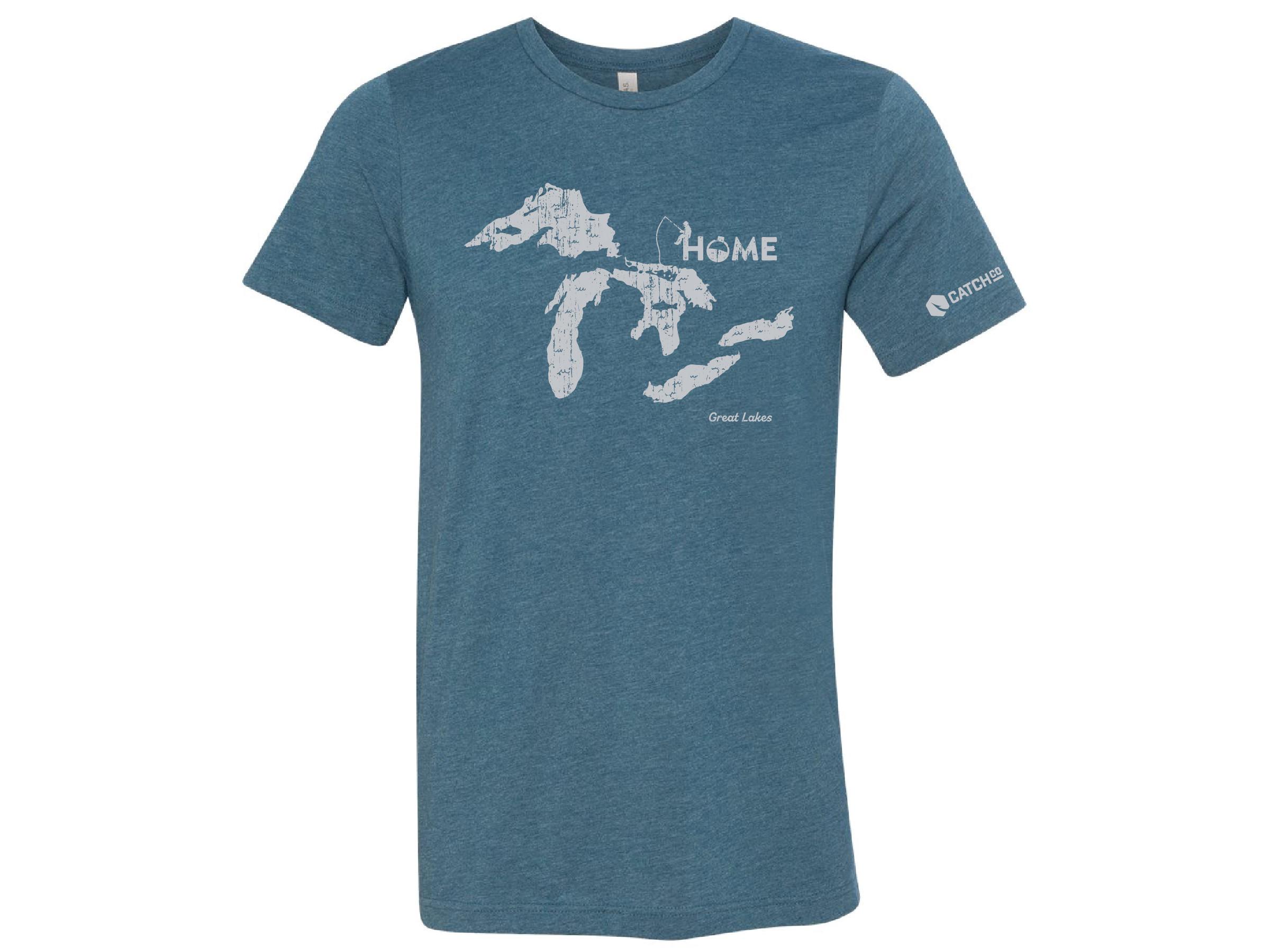 Home Lake T-Shirt - Great Lakes