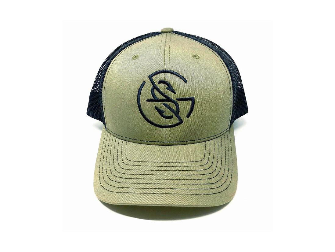 Googan Squad OD Green Trucker Hat