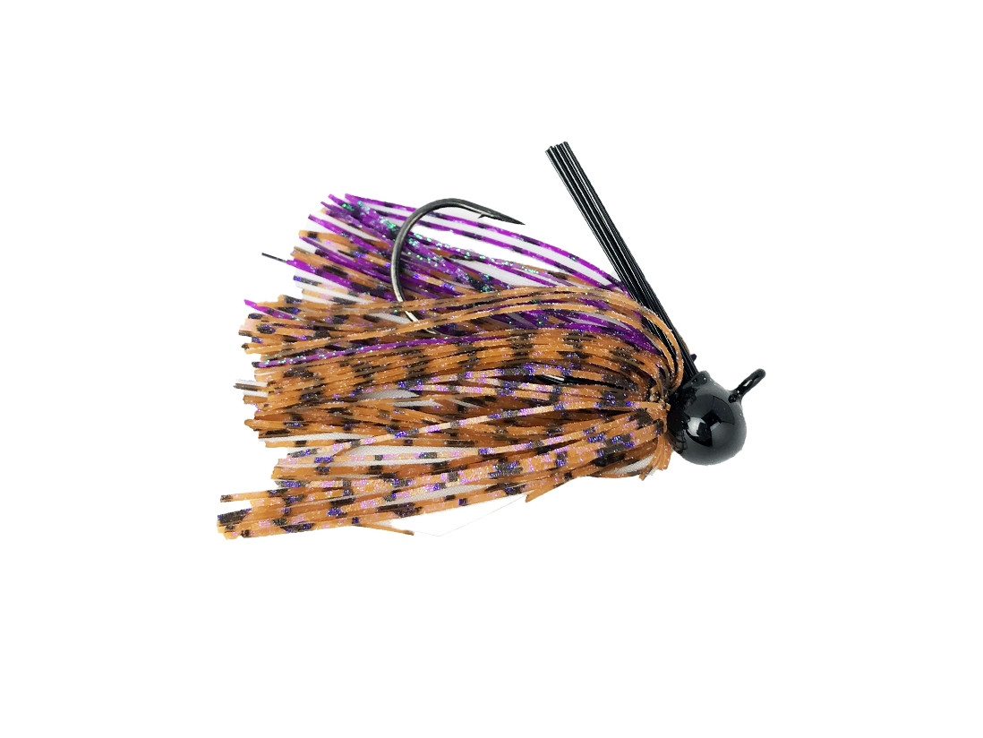 Heavy Metal Finesse Tungsten Football Jig