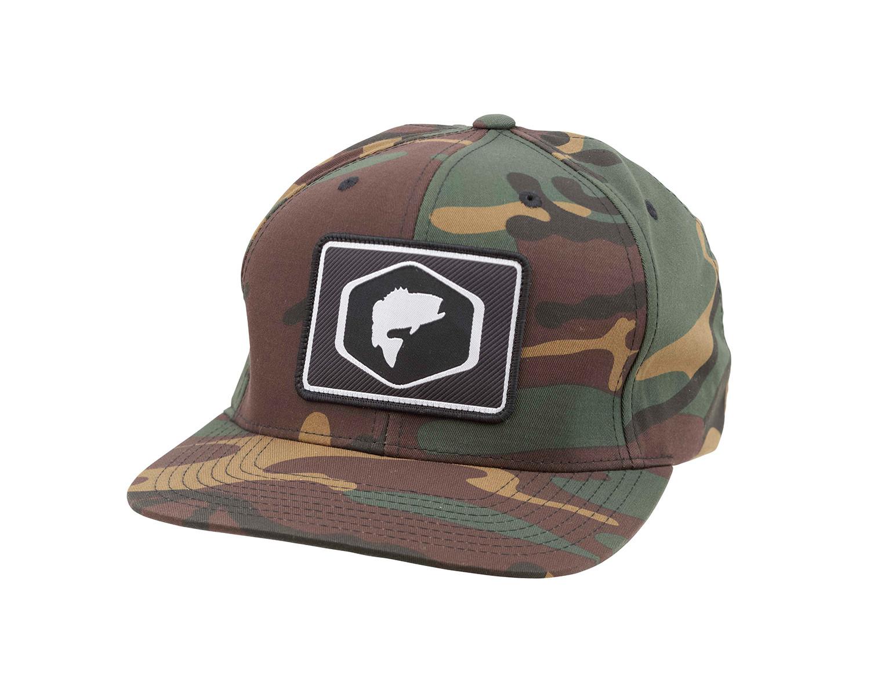 Simms Patch Woodland Camo Snapback Hat